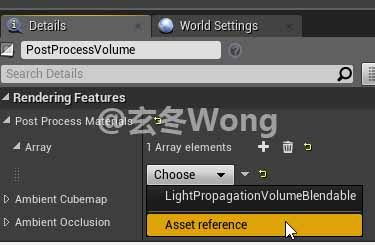 UE4]Modify Post Process Settings At Run-time
